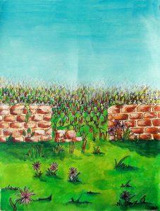 """Illustration du texte de Boris Vian """"Le grand passage"""""""
