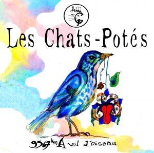 Pochette E.P du duo Les Chats-Potés
