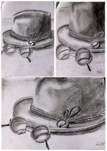 etude chapeau lunette