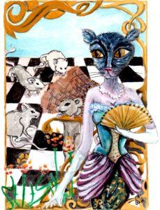 illu-fable-la-chatte-metamorphosee-en-femme